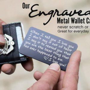 Wallet Card Love Note