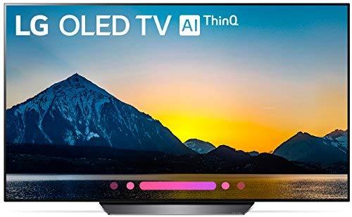 LG Electronics OLED55B8PUA 55-Inch 4K Ultra HD Smart OLED TV (2018)
