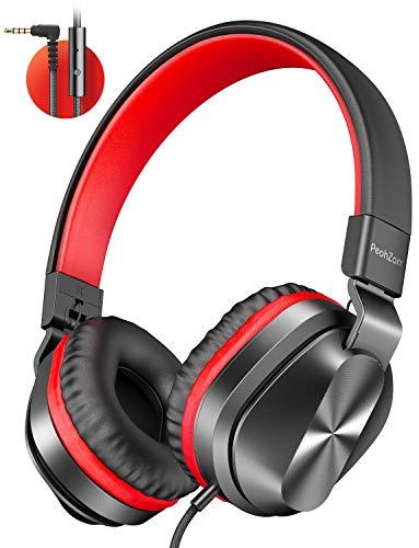 PeohZarr On-Ear Headphones with Microphone