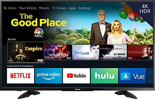 Toshiba 55LF711U20 55-inch 4K Ultra HD Smart LED TV – Fire TV Edition