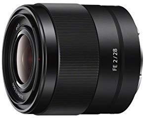 Sony SEL28F20 FE 28mm f/2-22 Standard-Prime Lens