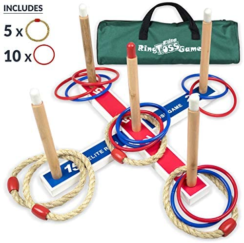 Ring Toss Yard Games for Adults and Family