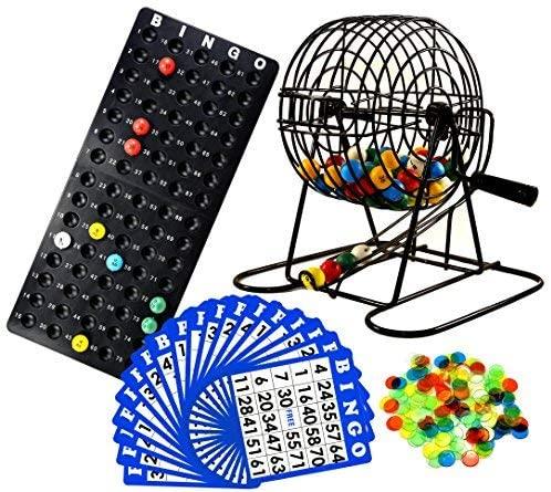 Regal Games Deluxe Bingo Cage Game Set