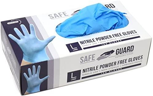 Safeguard Nitrile Disposable Gloves