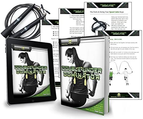 Survival and Cross Jump Rope - Boxing MMA Fitness Training - Speed Adjustable - Sold by FMS International