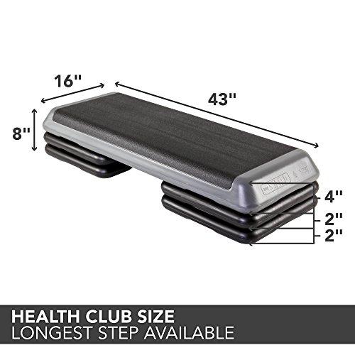 The Step Original Aerobic Platform for Total Body Fitness – Health Club